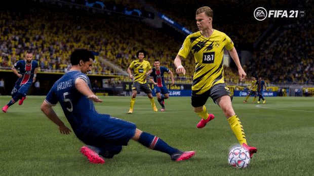 FIFA 21 EA SPORTS jeunes espoirs Haaland