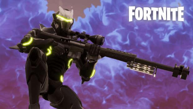 Fortnite sniper Epic Games vault