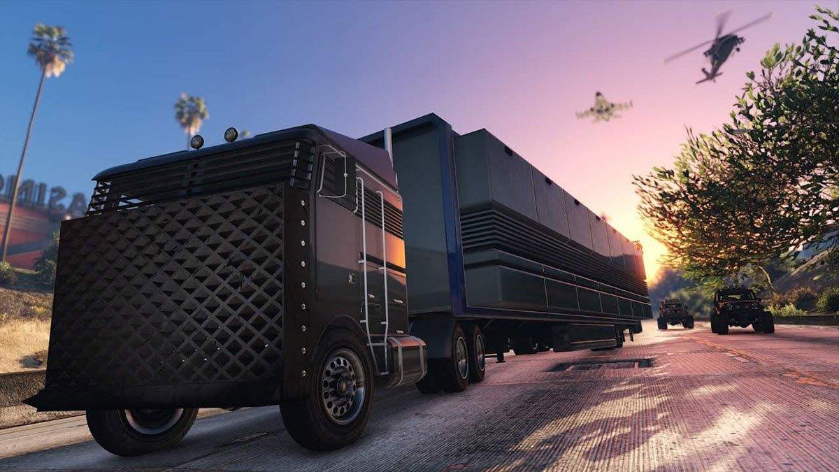 Centre d'Opération Mobile sur GTA Online