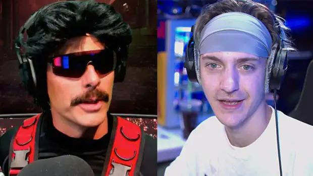 Ninja a réagi au ban de Dr Disrespect de Twitch