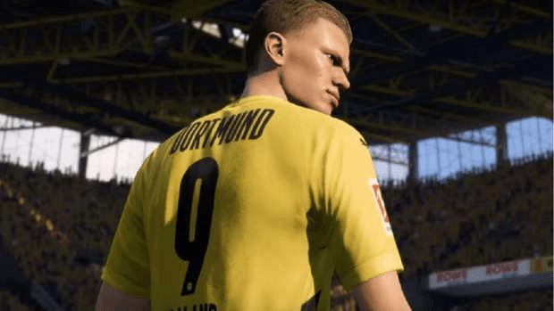Erling Haaland FIFA 21 TOTW EA SPORTS