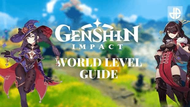 Genshin Impact couverture guide Niveau de Monde miHoYo