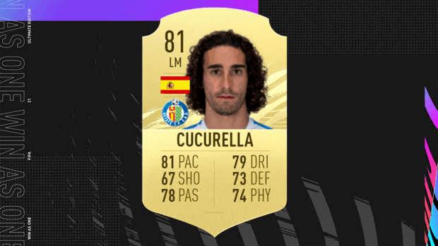 8 monstres qu il faut absolument acheter dans FIFA 21 Ultimate Team Cucurella