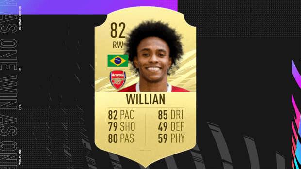 8 monstres qu il faut absolument acheter dans FIFA 21 Ultimate Team Willian