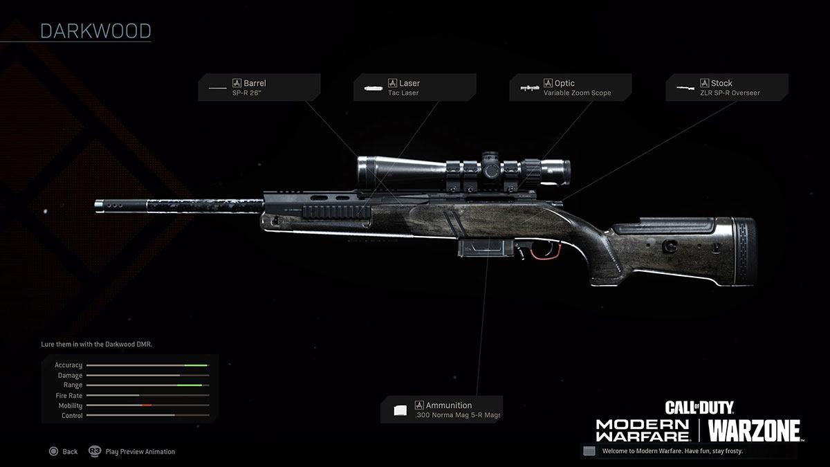 SP-R 208 sur Modern Warfare
