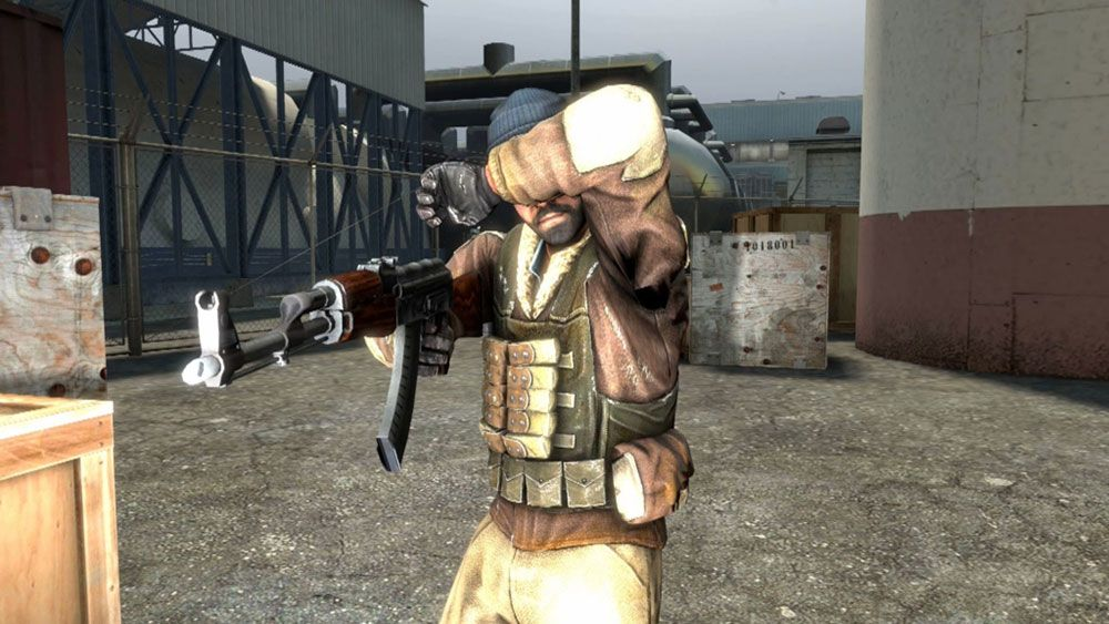 Flashbang Counter-Strike