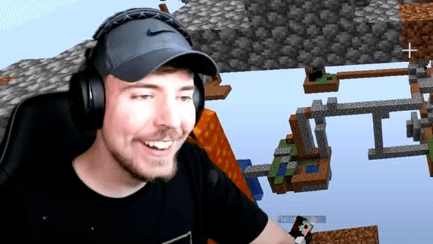 Mr Beast youtube Minecraft