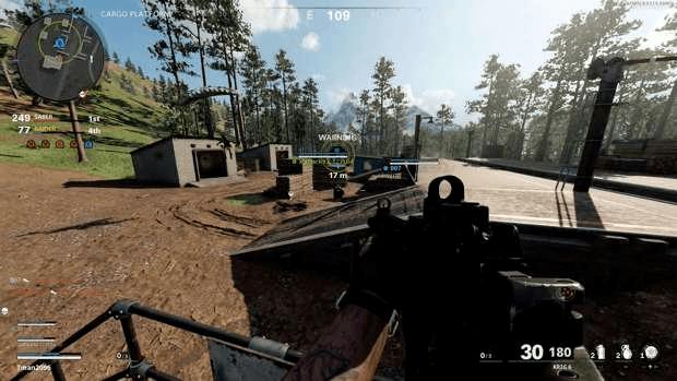 Black Ops Cold War mode Fireteam: Dirty Bomb Treyarch