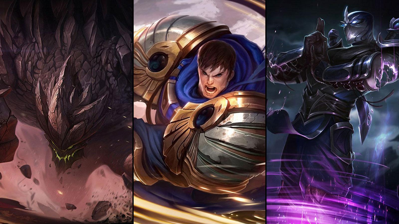 Tier list des Top League of Legends 10.21