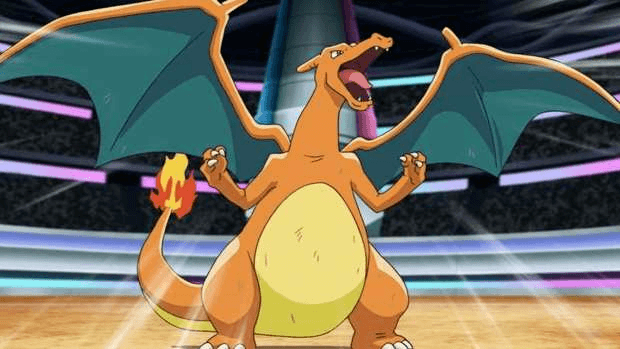 Dracaufeu Pokémon dessin animé