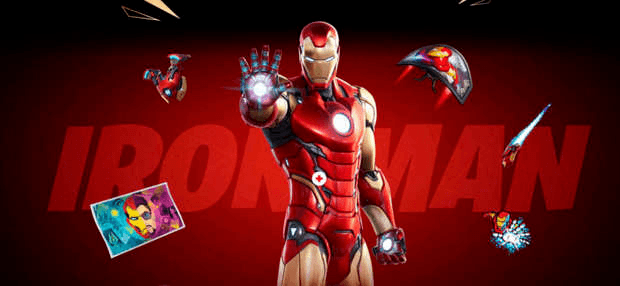 Fortnite Iron Man Epic Games Marvel