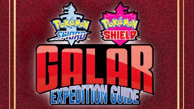 Guide de voyage Galar Pokémon épée bouclier Game Freak