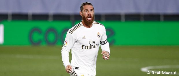 Sergio Ramos dans FIFA 21