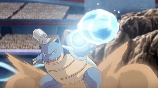 Tortank Pokémon company film hydrocanon