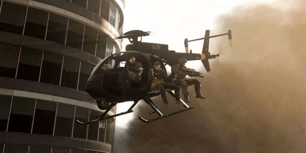 Call of Duty: Warzone hélicoptère Infinity Ward