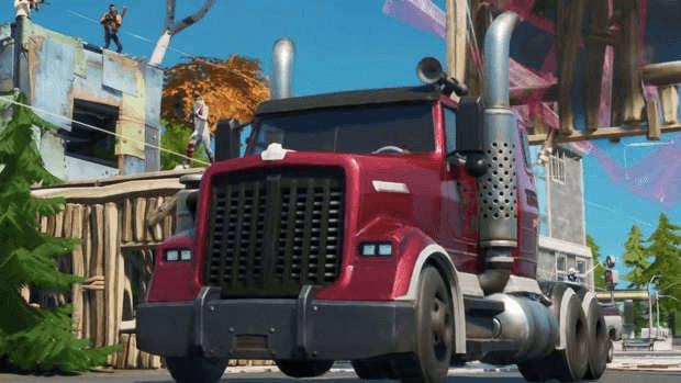 Fortnite camion mudflap glitch invisibilité Epic Games