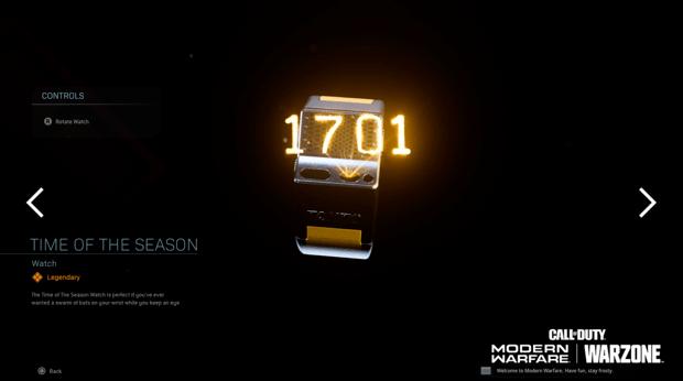 Warzone événement récompense Activision : montre