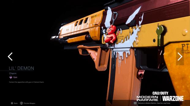 Warzone événement récompense Activision : lil demon