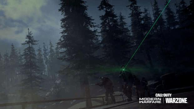 Warzone événement récompense Activision carte nocturne