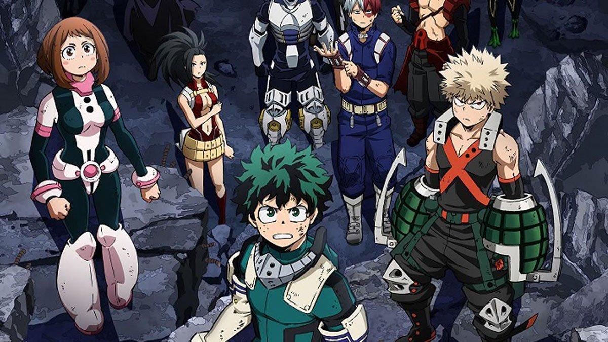 Les personnages de My Hero Academia