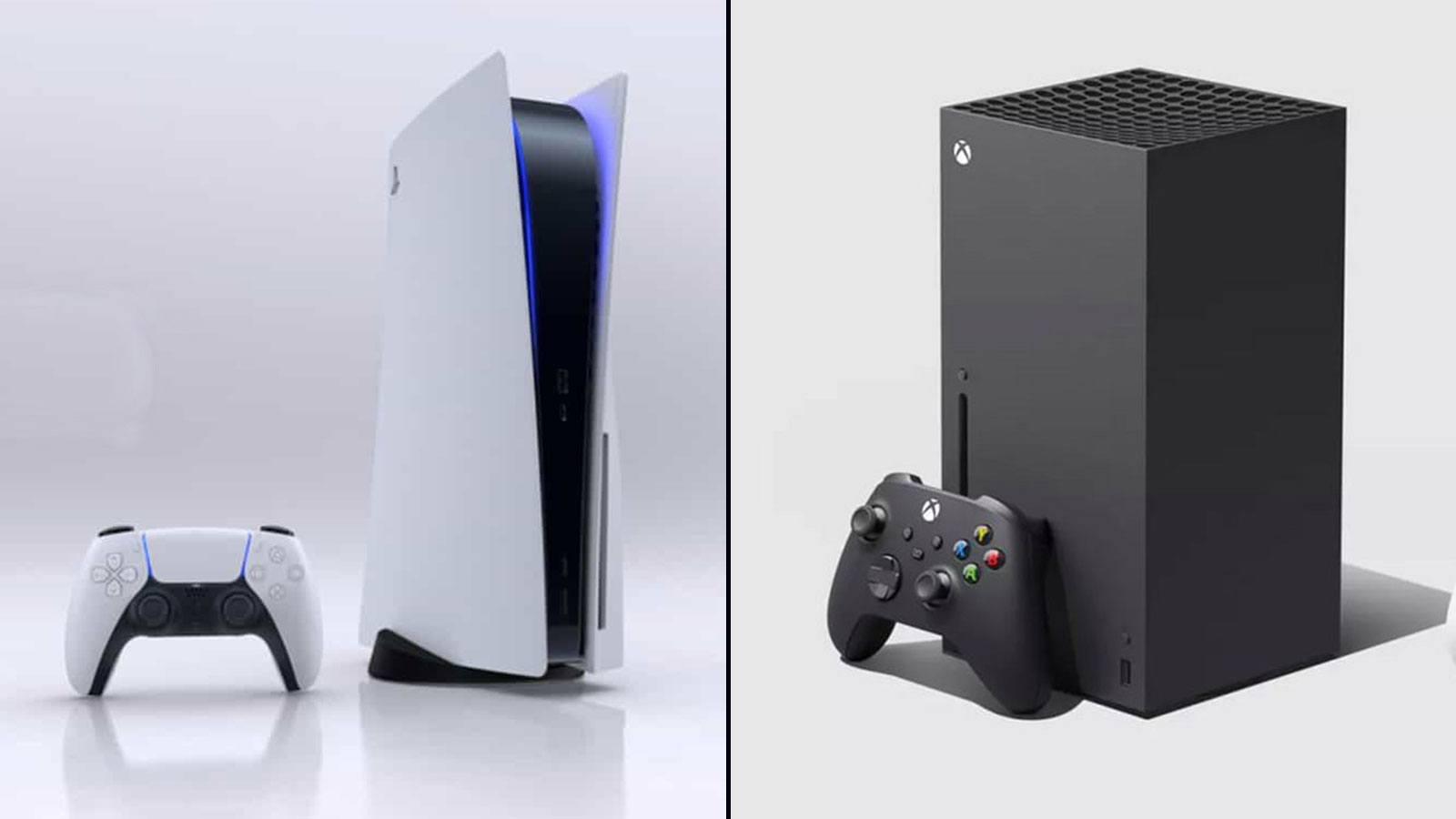 La PlayStation 5 et la Xbox Series X