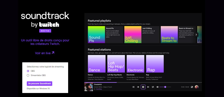 Twitch présente son nouvel outil, Soundtrack