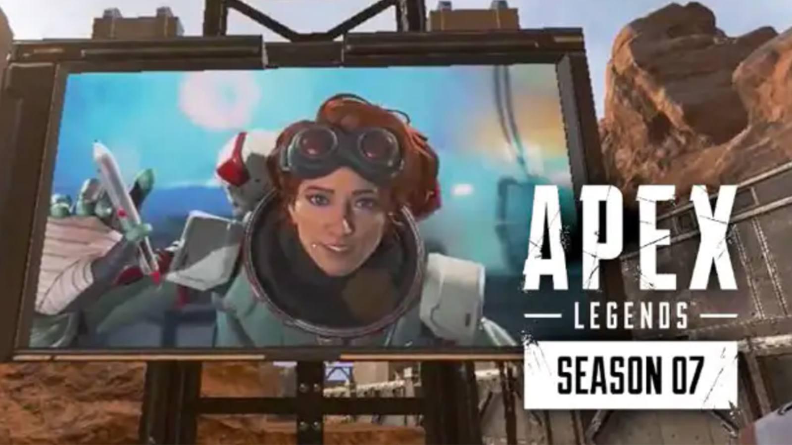 Lancement avancé de la saison 7 d'Apex Legends