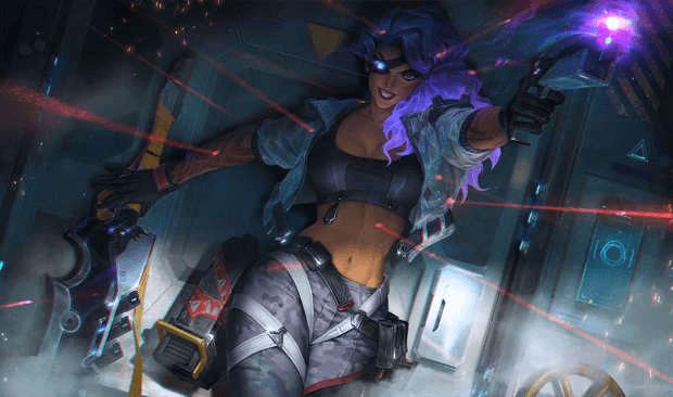 Samira League of LEgends skin Riot Games