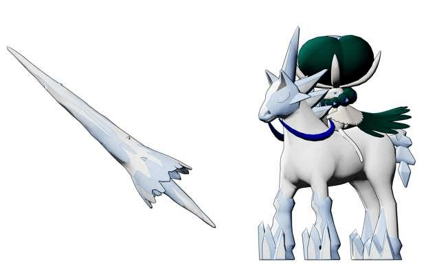 Pokémon épée bouclier dlc Terres enneigées de la Couronne Glastrier