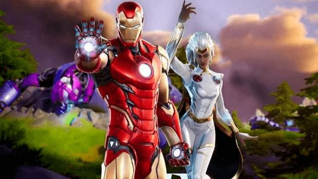 Iron Man Tornade Marvel Fortnite