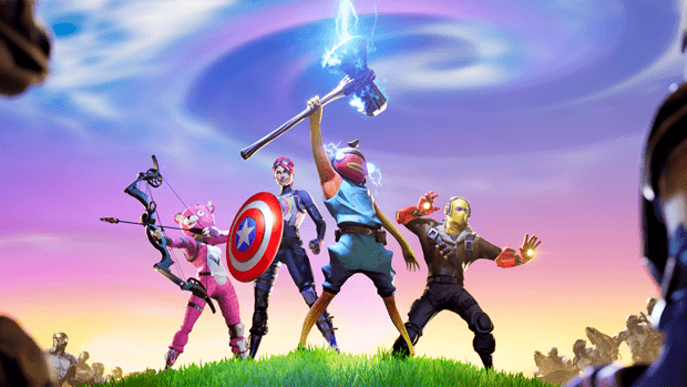 Fortnite super-pouvoirs Epic Games Marvel