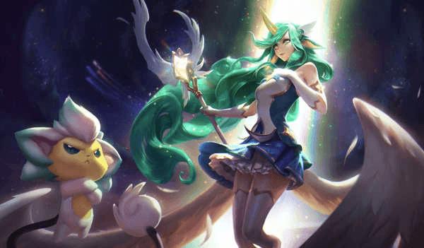 Soraka Star Guardien Riot Games