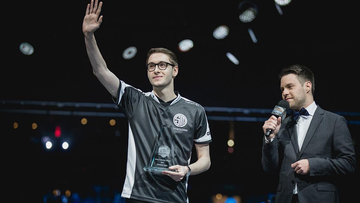 Bjergsen soulève son titre de MVP