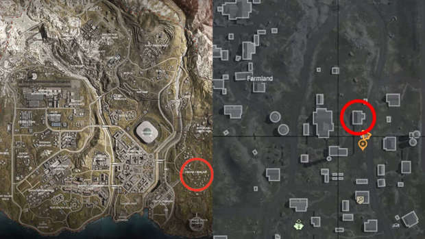 Map de Warzone
