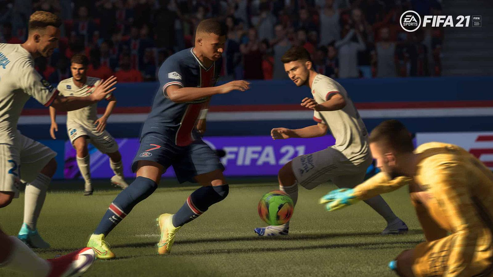 FIFA 21 Mbappe EA SPORTS