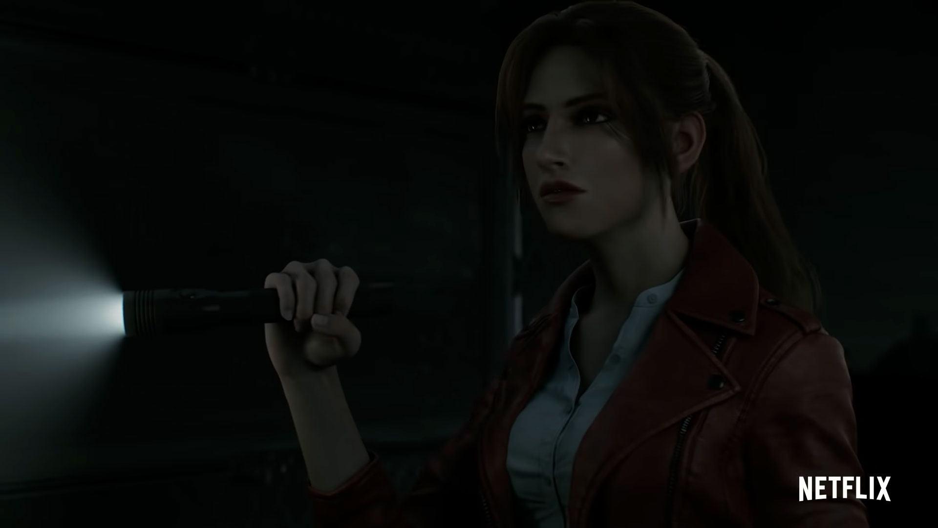 Claire dans Resident Evil