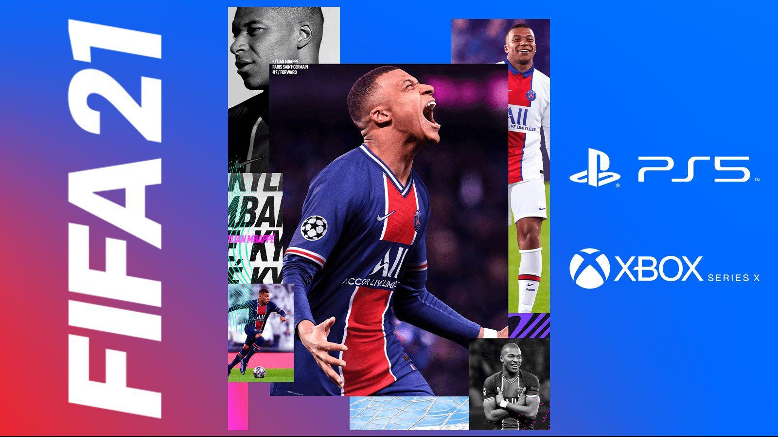 FIFA 21 sur Playstation 5 et Xbox Series X/S