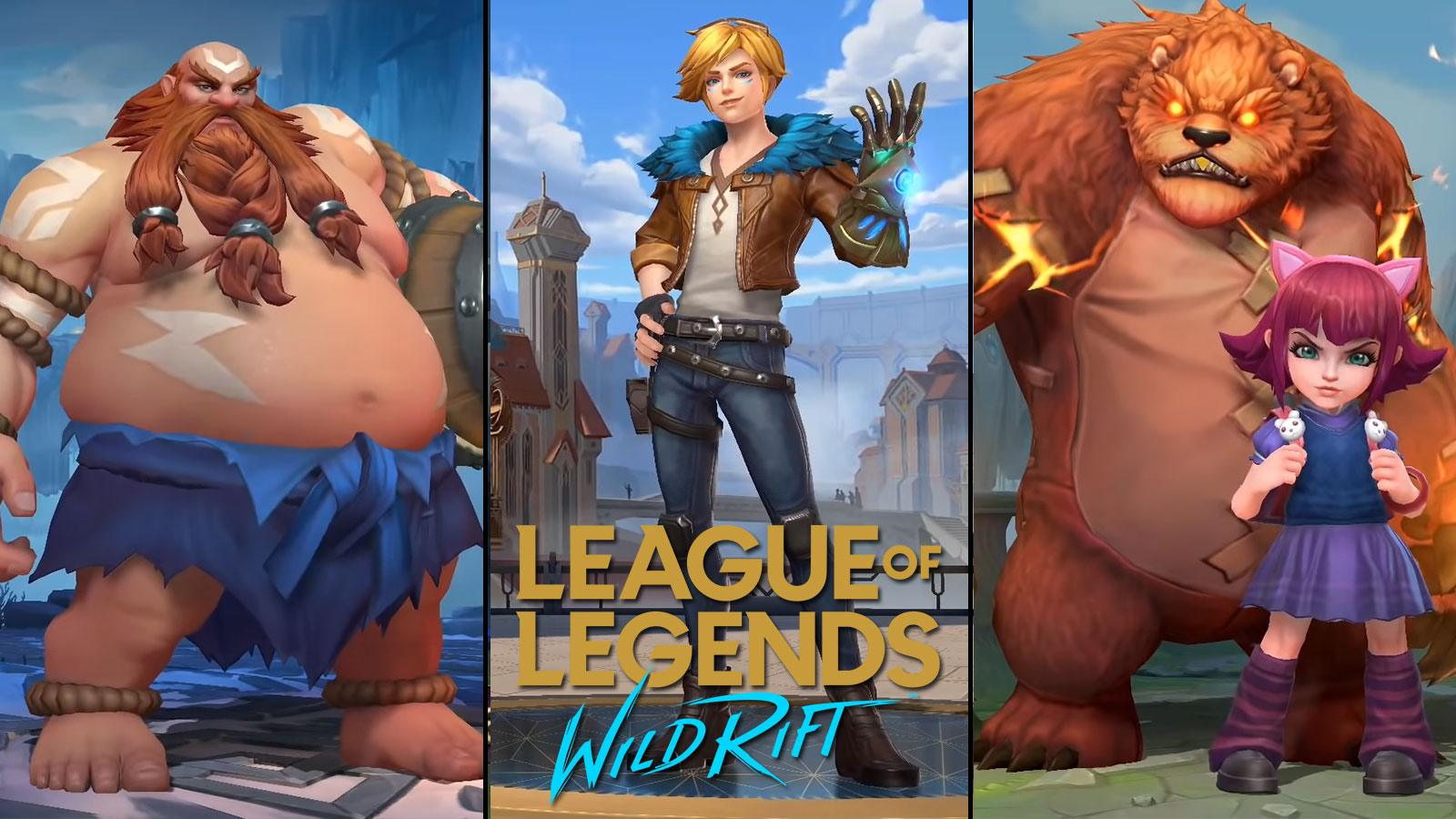 Refonte champions League of Legends: Wild Rift