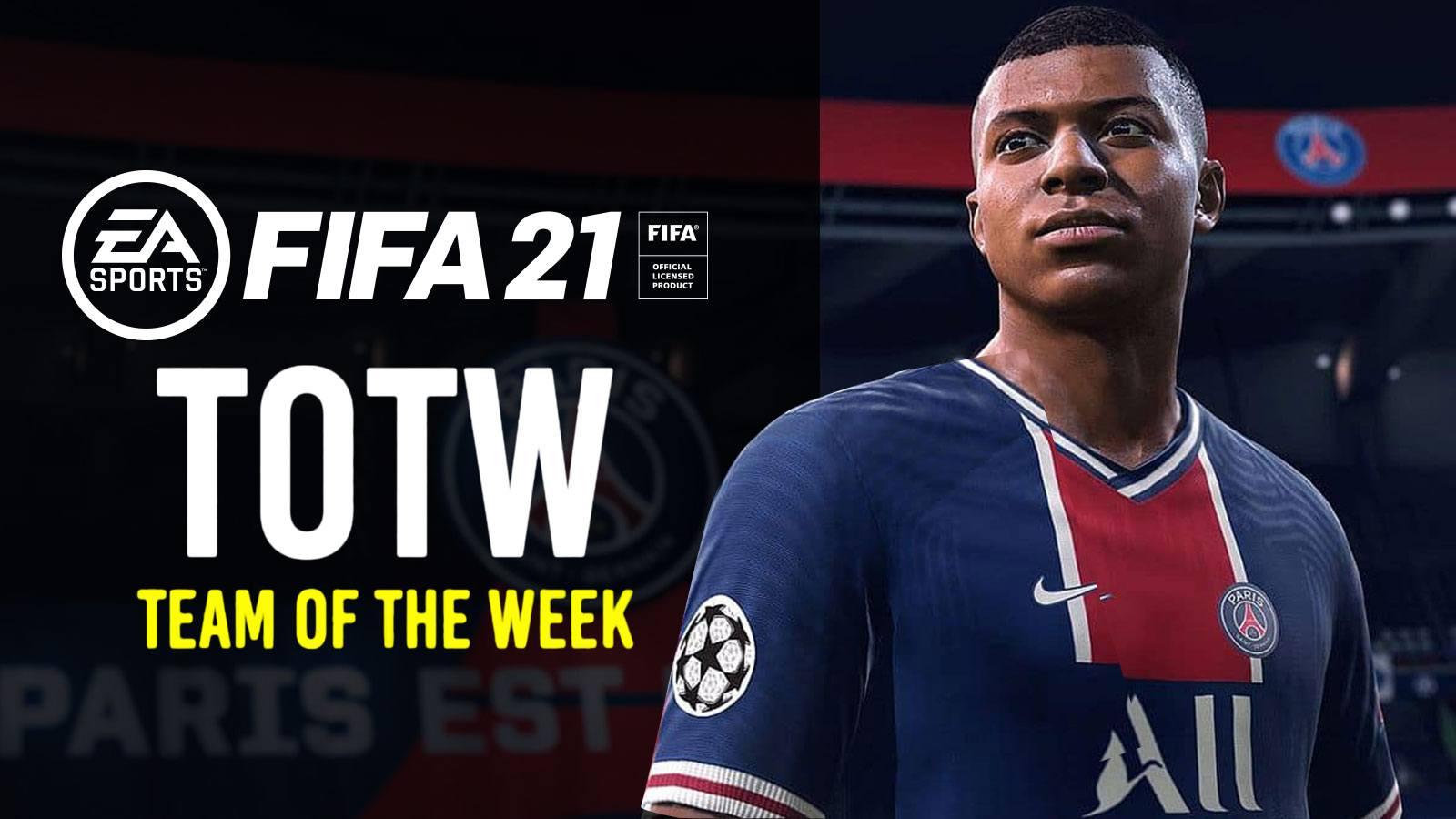 Mbappe sur FIFA 21