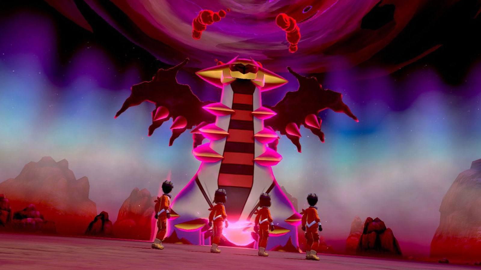 Pokémon Giratina expédition dynamax épée bouclier crown toundra