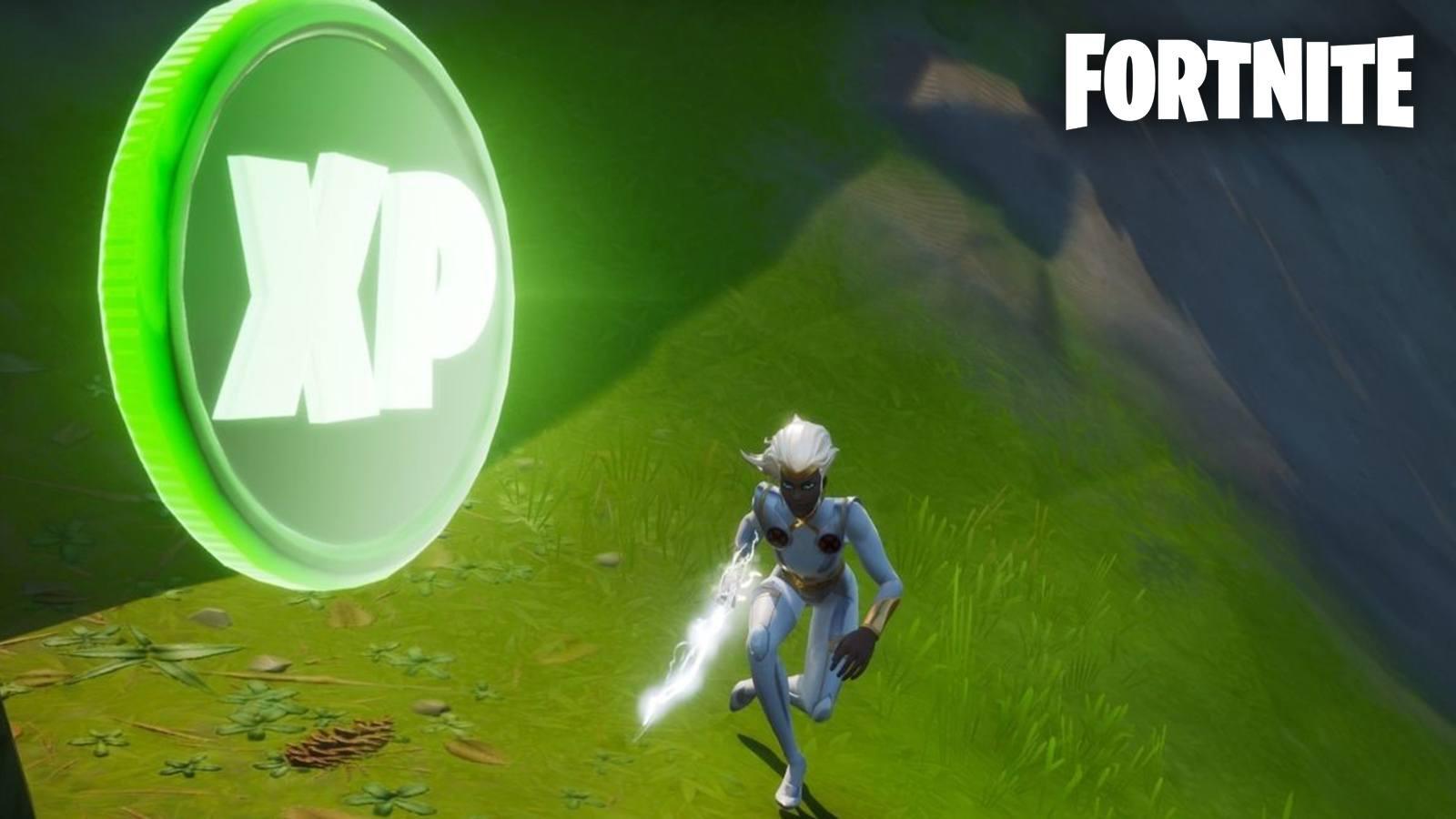 Emplacements pièces d'XP Fortnite semaine 10 saison 4