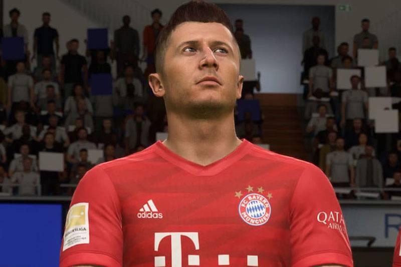 Lewandowski dans FIFA 21