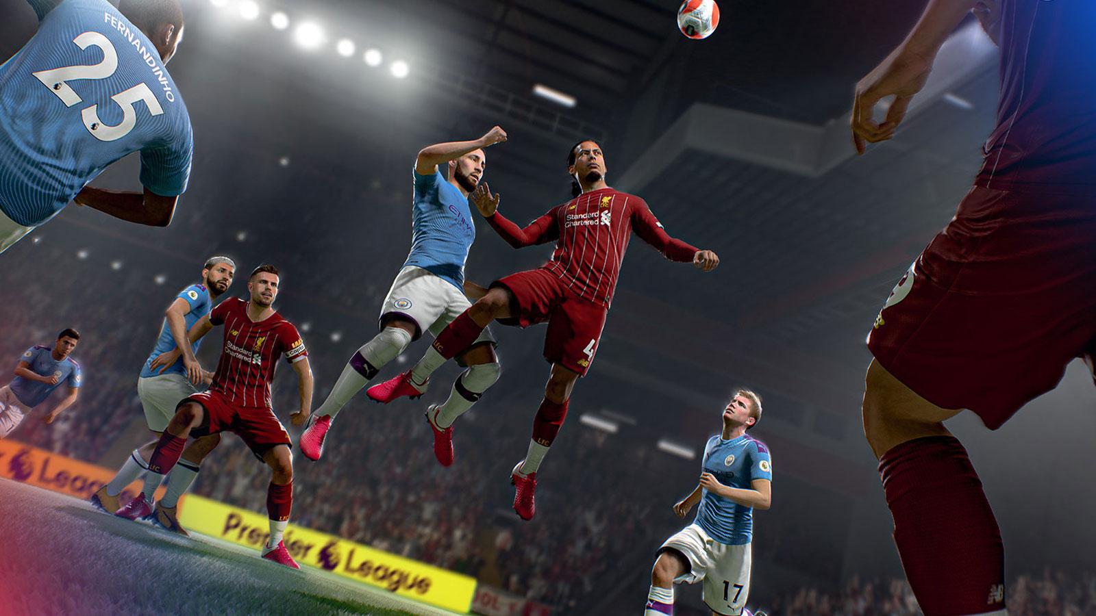 FIFA 21 EA SPORTS cinématique