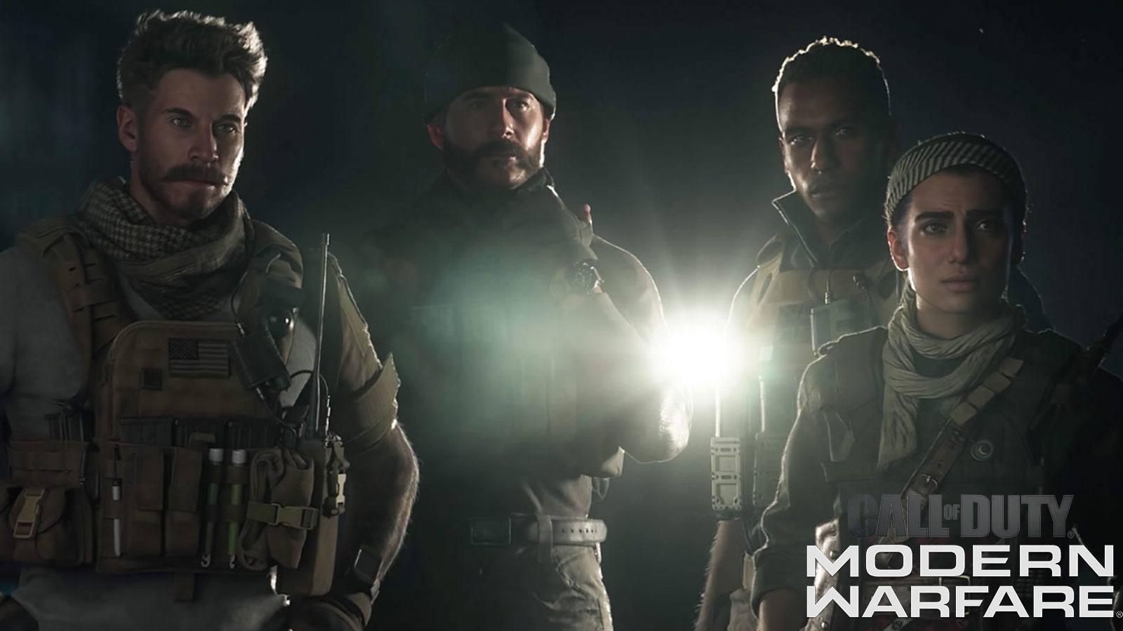 CoD Modern Warfare 2019 Infinity Ward Capitaine Price et son équipe