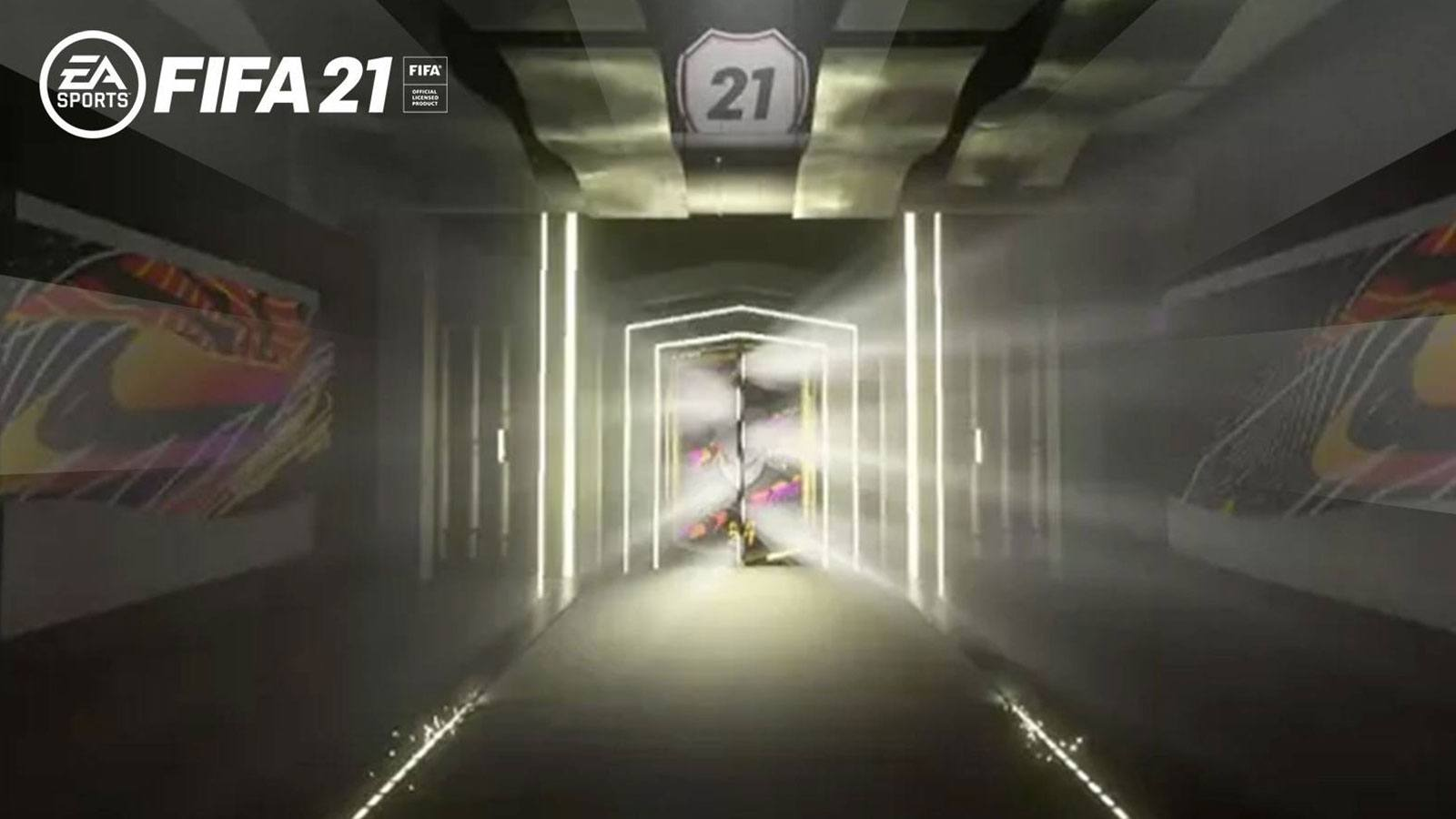 FIFA 21 FUT porte ouverture pack EA