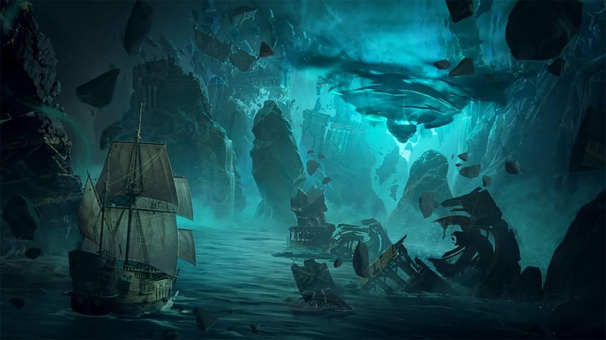 Les Îles Sombres sur League of Legends