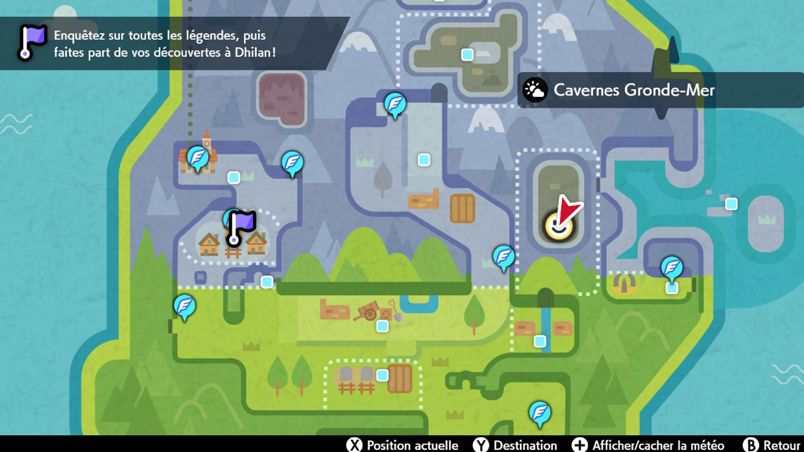 Pokémon Couronneige Nostenfer Game Freak carte