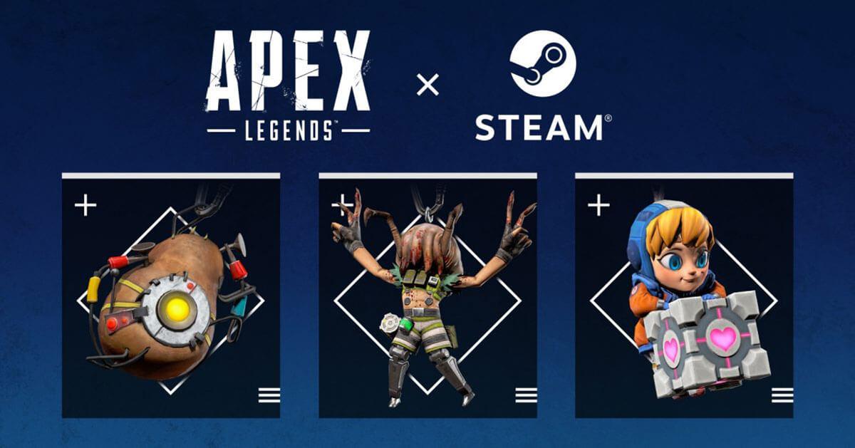 Portage d'Apex Legends sur Steam