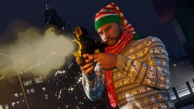 Noël va bientôt débarquer dans GTA Online