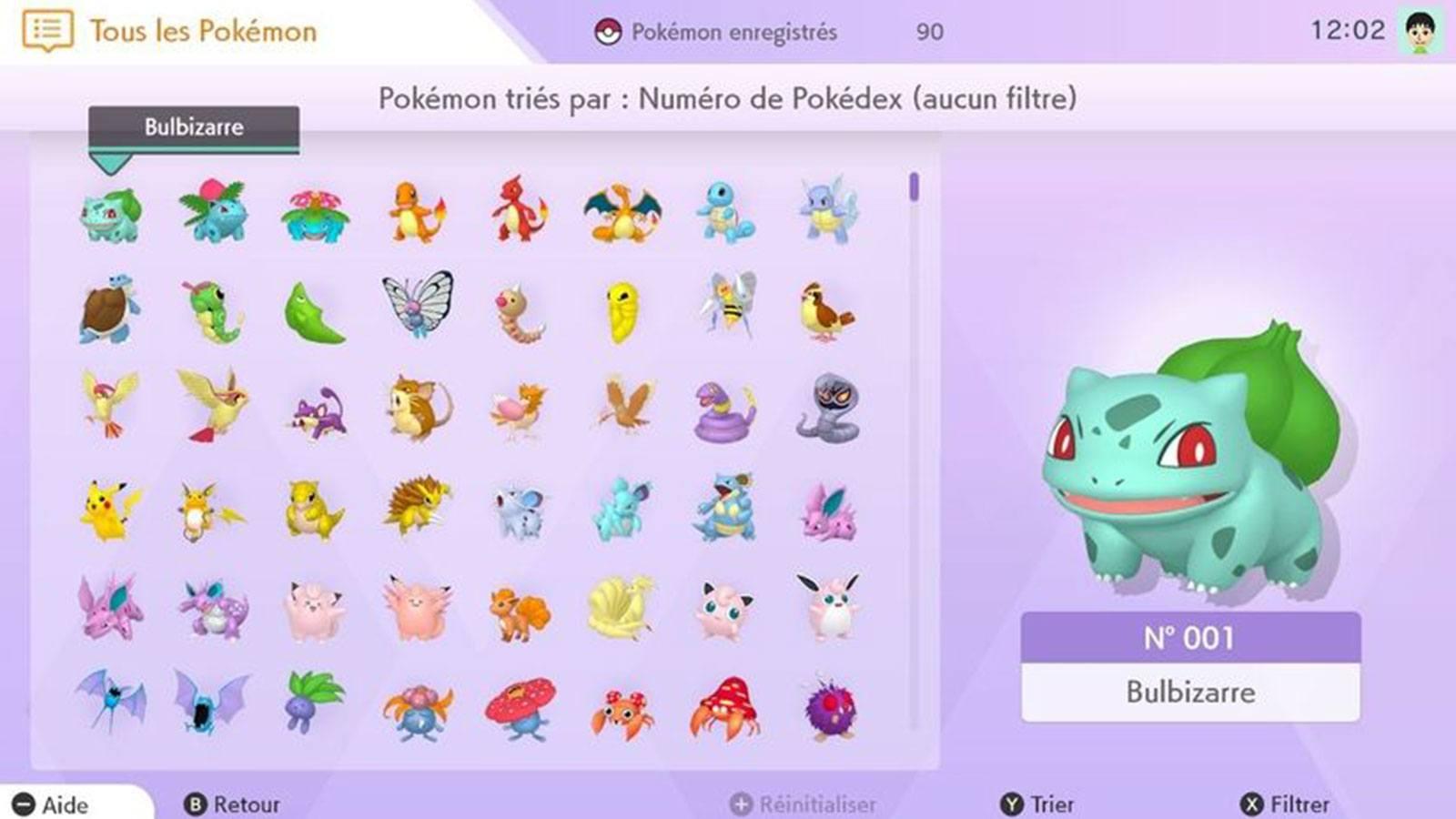 Pokémon HOME capture